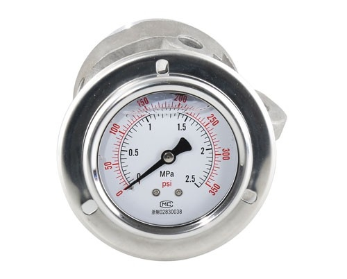 Oil filled gauge with edge gb3a8206